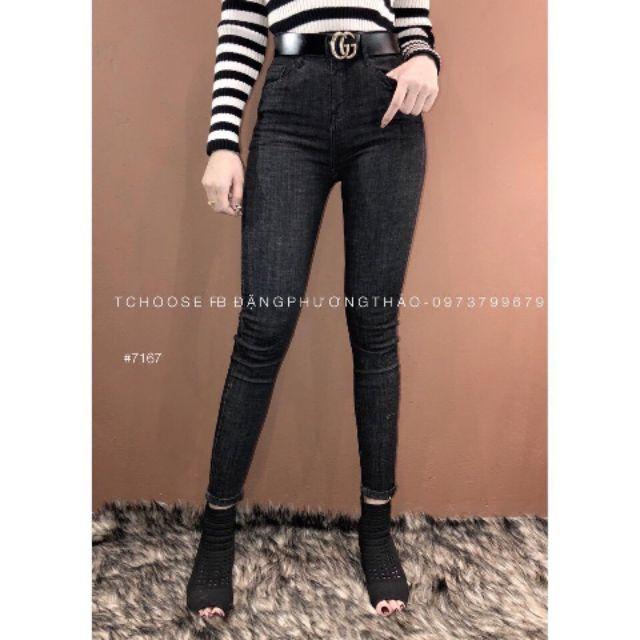 Siêu phẩm quần Jean trơn nữ