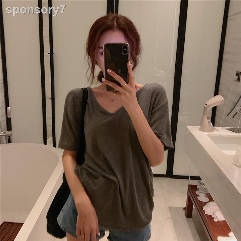 Set Áo Thun Tay Ngắn + Chân Váy Thời Trang Xinh Xắn Cho Nữ