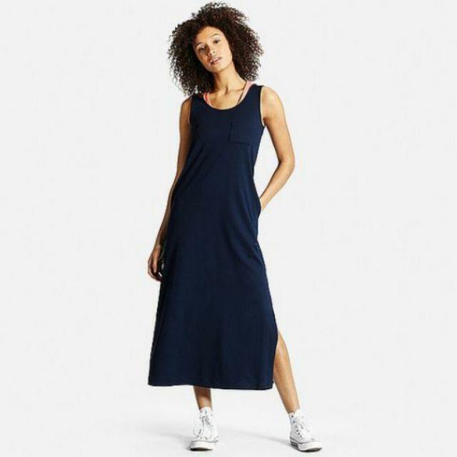 Váy maxi cotton xuất dư