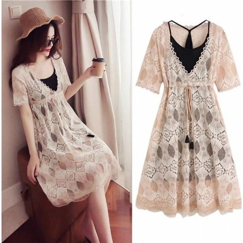 Set Áo Thun Ngắn Tay + Chân Váy Đuôi Cá Thời Trang Nữ