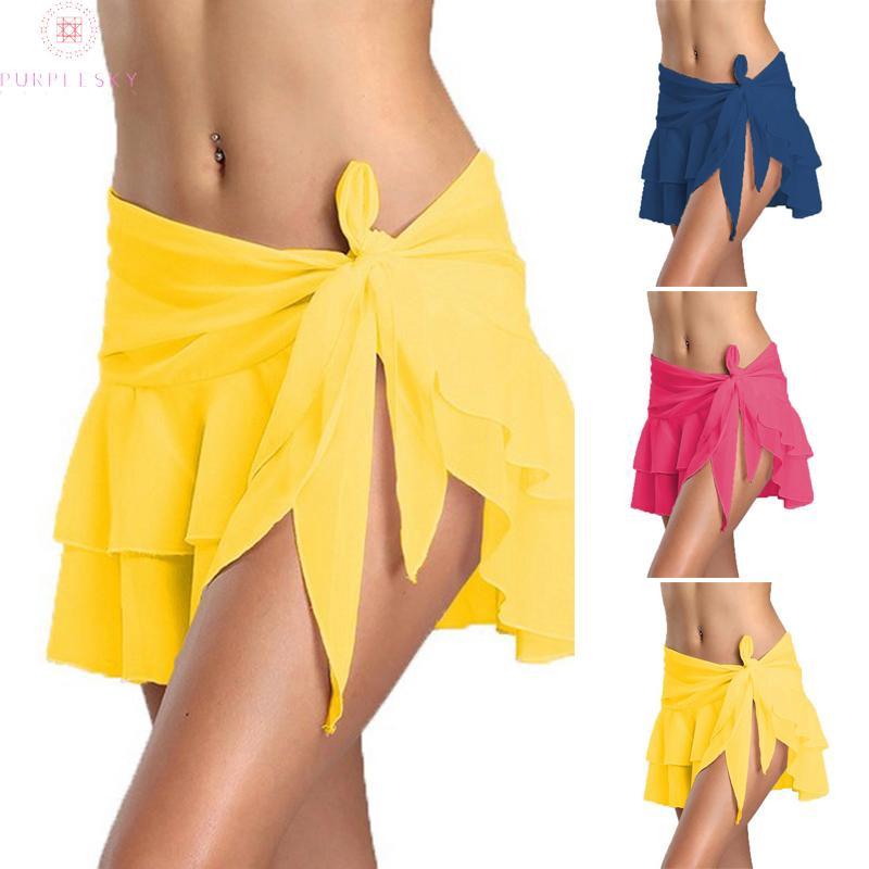 Chân Váy Voan Đi Biển Thời Trang Dành Cho Nữ