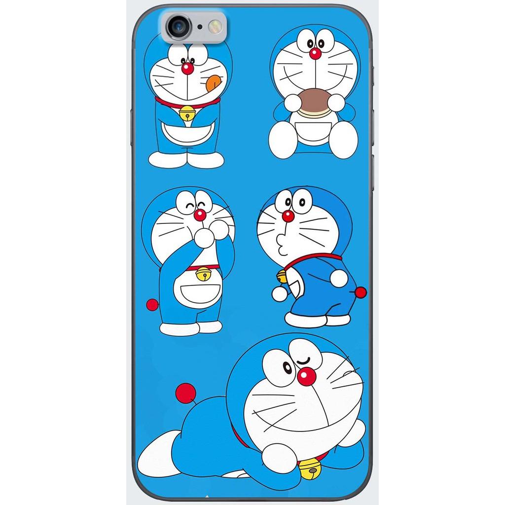 Ốp lưng nhựa dẻo Iphone 6, Iphone 6 Plus Doraemon ham ăn