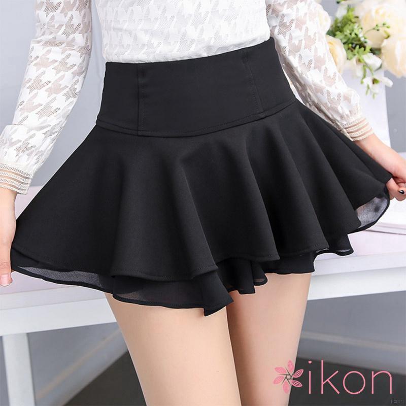 Chân váy ngắn xếp nếp thời trang