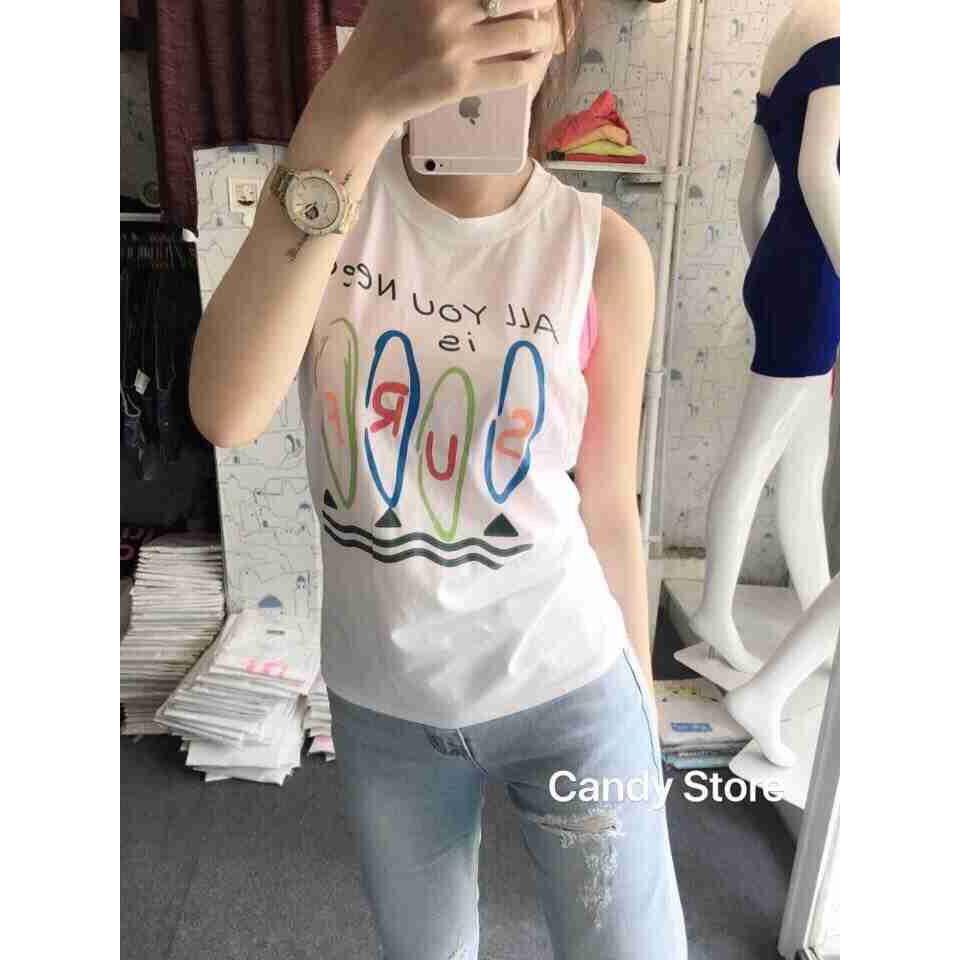 Áo thun nữ kèm áo bara MS8278