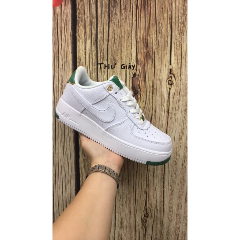 giày nike force gót xanh