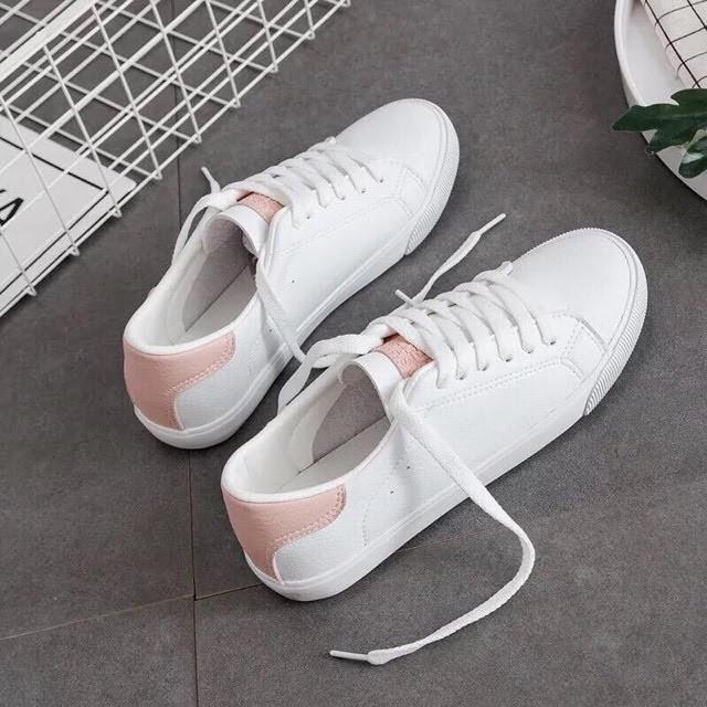 { RẺ VÔ ĐỊCH } giày thể thao gót phong cách hàn quốc ( ngoài nhìn y như hình )