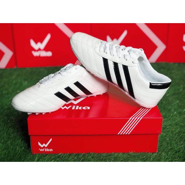 Giày Đá Banh Ba Sọc Huyền Thoại Trắng Sọc Đen Đủ Size từ 39 đến 43 - ViKi Sport