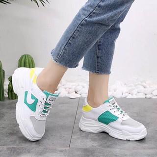 Giày thể thao nữ Giày đế thô siêu hot mới size 36 -> 39