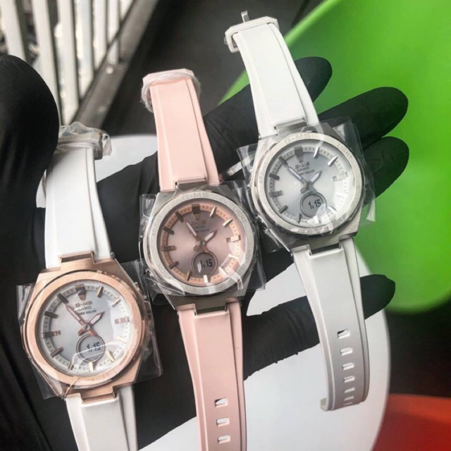 Đồng hồ nữ baby-G MSG-S200 - Kích thước 47,5×38,4×12,3mm