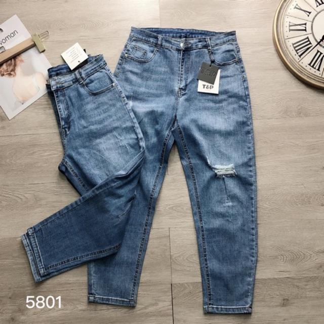 [Mã WAPUSH giảm 15% đơn 50K] Mua 2 quần tặng son,Quần jean baggy bigsize cao cấp 62-87kg