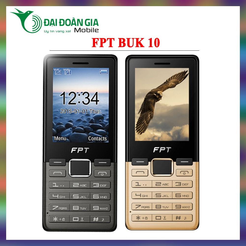 Điện thoại giá rẻ FPT Buk 10 - Hàng chính hãng - 2 Sim 2 Sóng