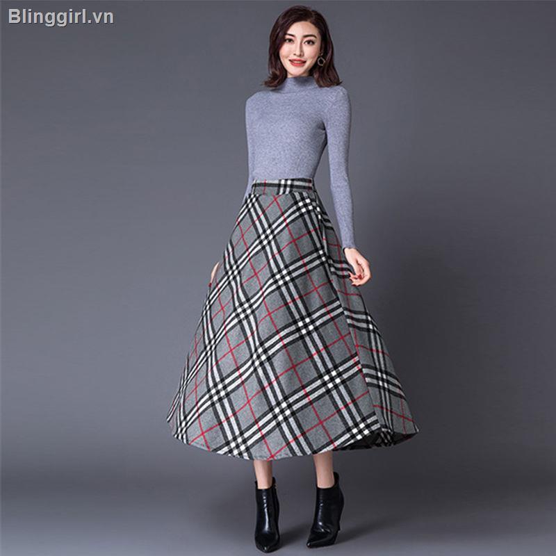Chân váy xòe phối lông xù phong cách trẻ trung dành cho nữ