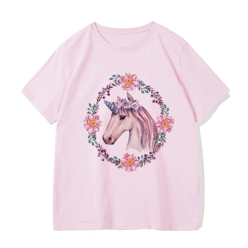 unicorn áo lót Hot Sale Brand New Fashion Summer pakaian T-shirt 3d Print Short-Áo ngắn tay không áo thun nam