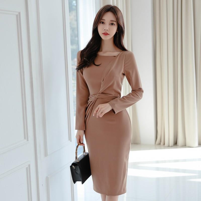 7006621519 - [Order] Váy đầm ôm body cuao ulzzang xoắn eo V179064