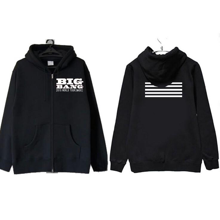 áo khoác BIGBANG nhóm nhạc kpop hót in theo yêu cầu