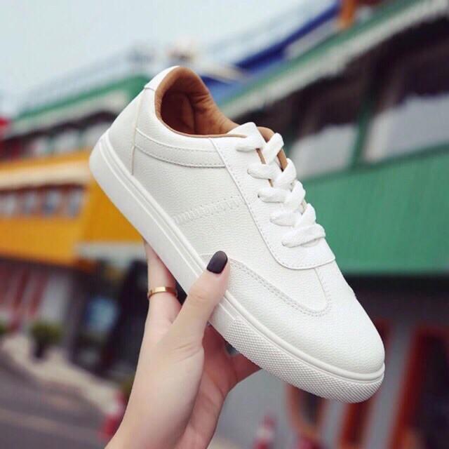 Giày nữ thể thao - full trắng