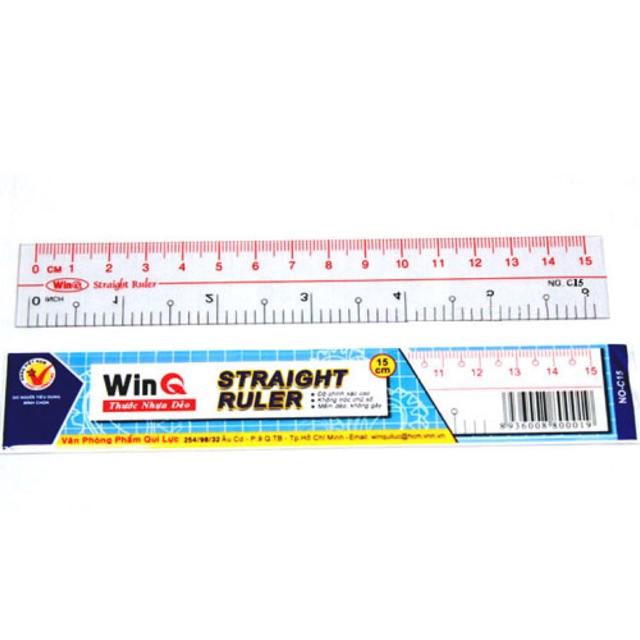 Thước dẻo Winq 15cm
