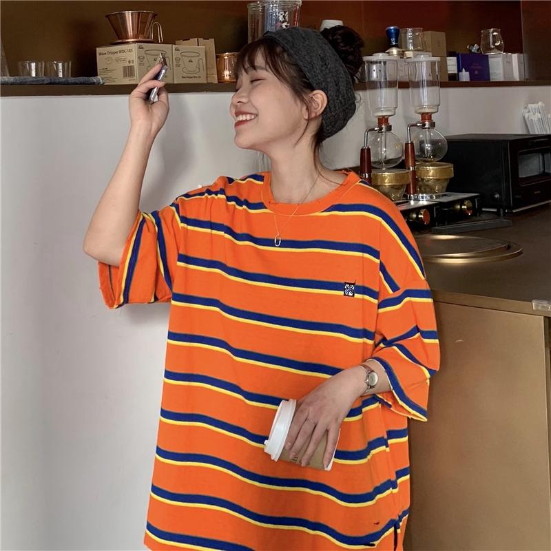 áo thun nữ ngắn tay cổ tròn thời trang