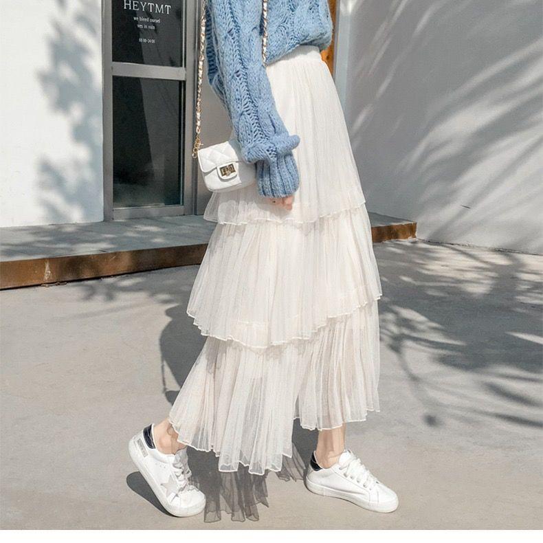 Chân Váy Xếp Ly Kiểu Hàn Quốc Thời Trang Mùa Thu 2019