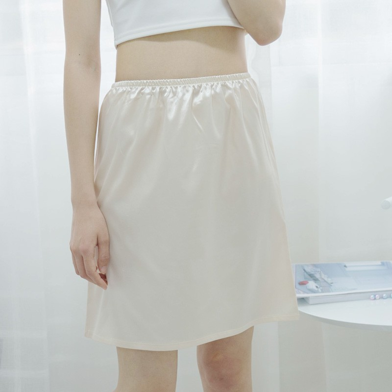 Chân Váy Phối Ren Xinh Xắn Dành Cho Nữ 45cm