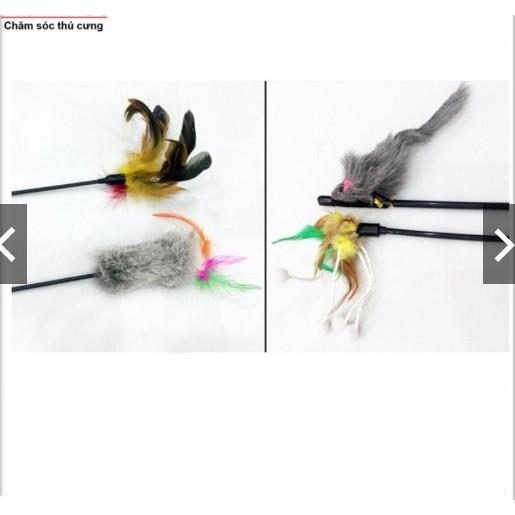 Cần câu cho mèo dạng lông bông (LADIEP 392)
