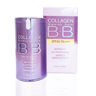 Kem Nền BB Collagen Blemish Balm Cellio SPF40 PA+++ 40ml