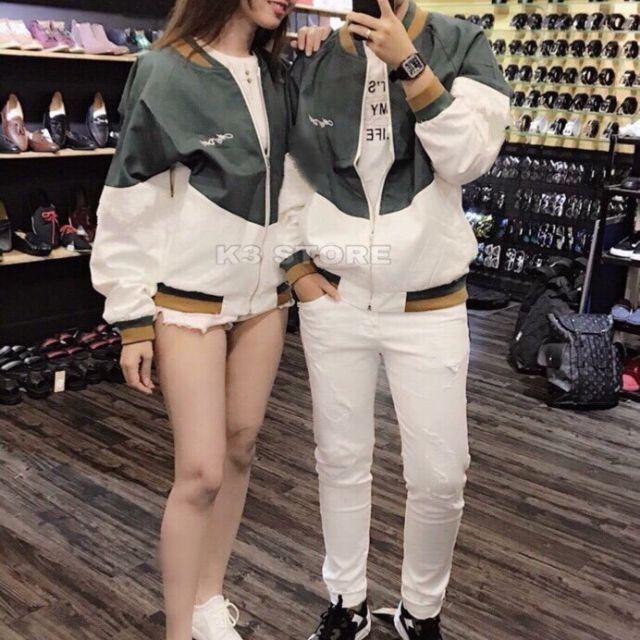 Áo khoác dù áo khoác dù cặp 2 lớp thời trang nam nữ