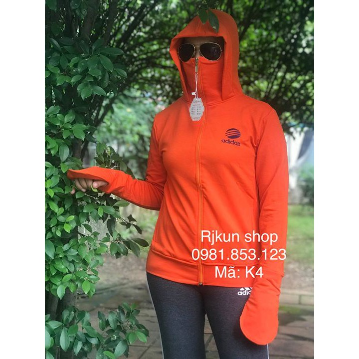 áo khoác chống nắng 3in1