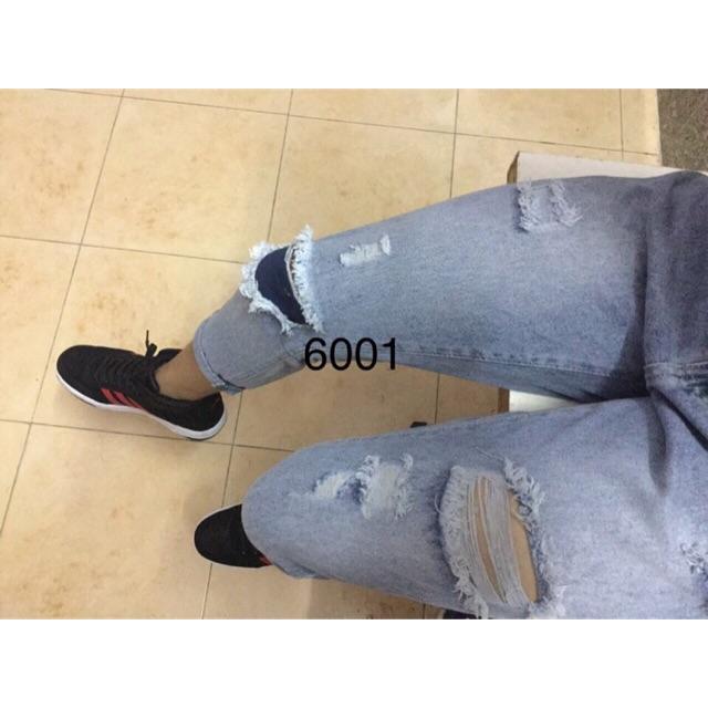 Quần Jeans rách gối cực đẹp cá tính
