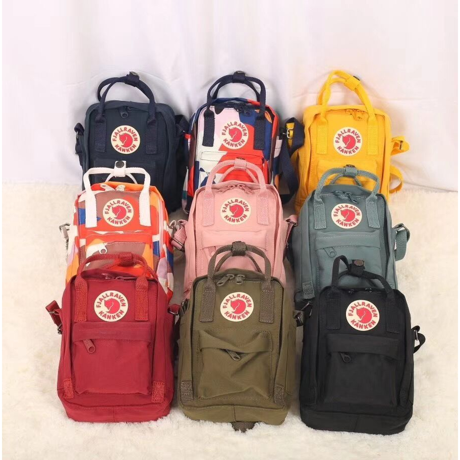 【New Colors】Ins Fashion Sling Bag Backpack Women Girls Beg Casual Slingbag