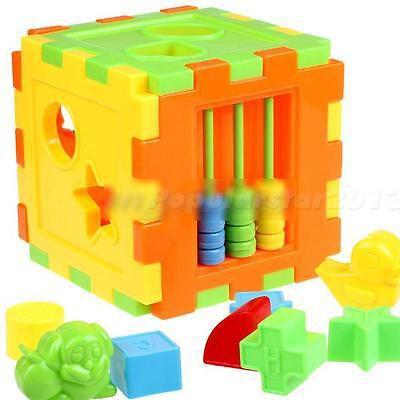 Hộp đồ chơi lắp ráp nhiều màu sắc mang tính giáo dục cao dành cho trẻ