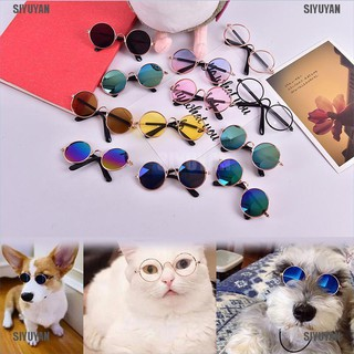 [SIYUYAN] Cool Pet Cat Dog Glasses Pet Products Eye Wear Photos Props Fashion Accessories