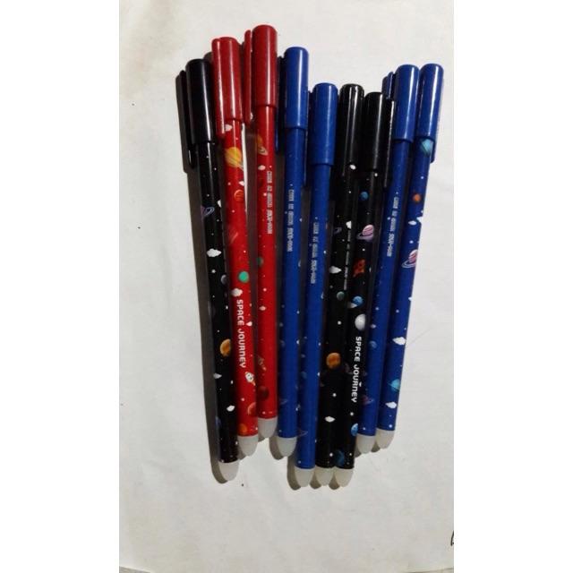 Bút gel tẩy/ xóa được vỉ 6 cây (kho BB)