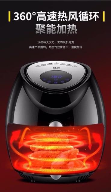 New Nồi chiên ko dầu điện tử KESHUAI-602