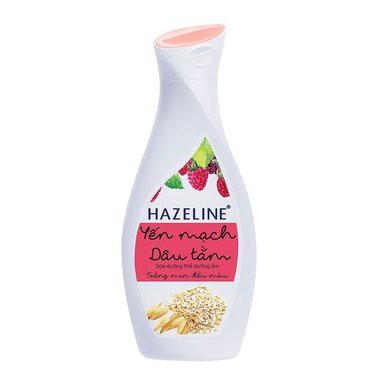 Sữa dưỡng thể dưỡng ẩm Hazeline yến mạch dâu tằm 230ml- Chính Hãng