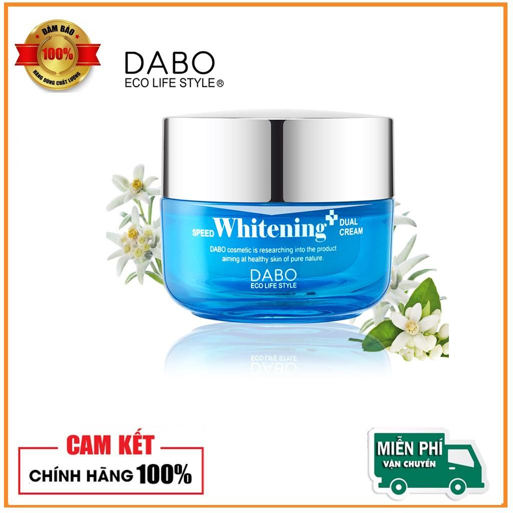 Kem dưỡng trắng da cao cấp DABO Speed Whitening Dual Cream 50ml