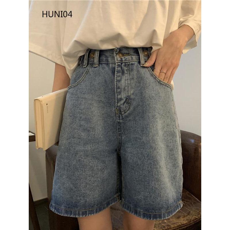 Quần jeans dài kiểu dáng đơn giản thời trang cho nữ