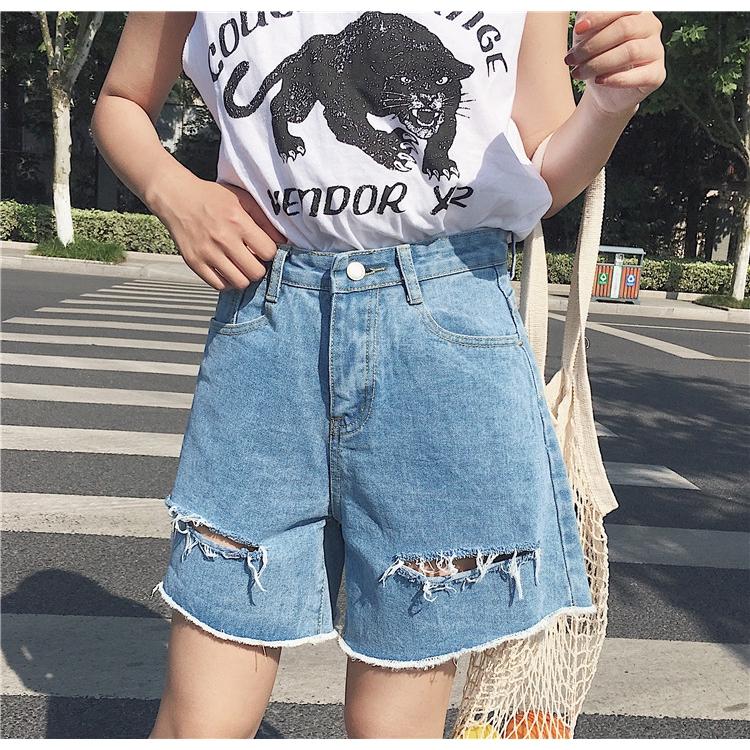 Quần short lưng thun phong cách Hàn Quốc xinh xắn dành cho nữ