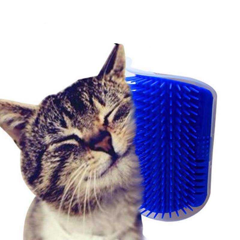 Lược treo góc tường massage cho thú cưng