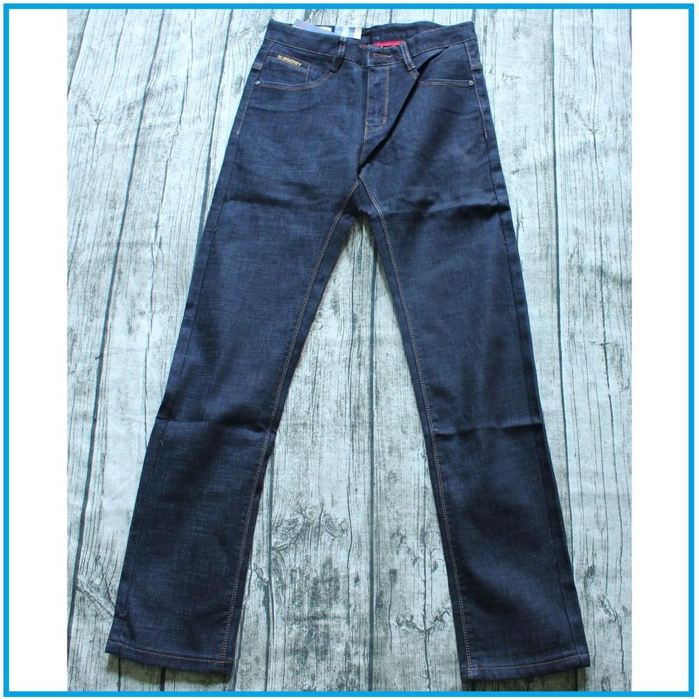 Quần Jeans ống suông nam màu đen hàng cao cấp