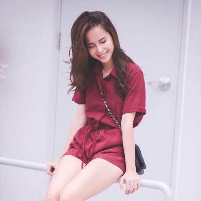 Jumpsuit đỏ