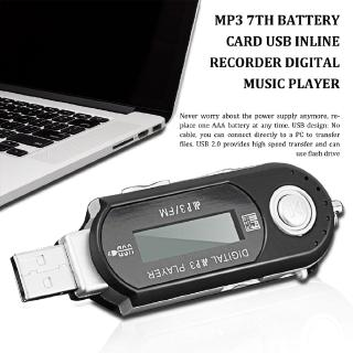 A Mp3 No. 7 Battery Card Usb In-Line Radio Cassette Player Digital Music P