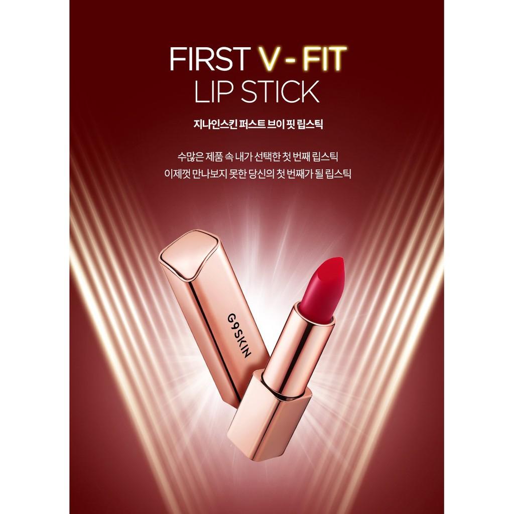 Kết quả hình ảnh cho Son Thỏi Lì G9Skin First V-Fit Lipstick #06. Rich Brick