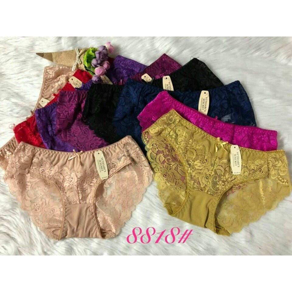 10 quần lót ren. Ms 8818