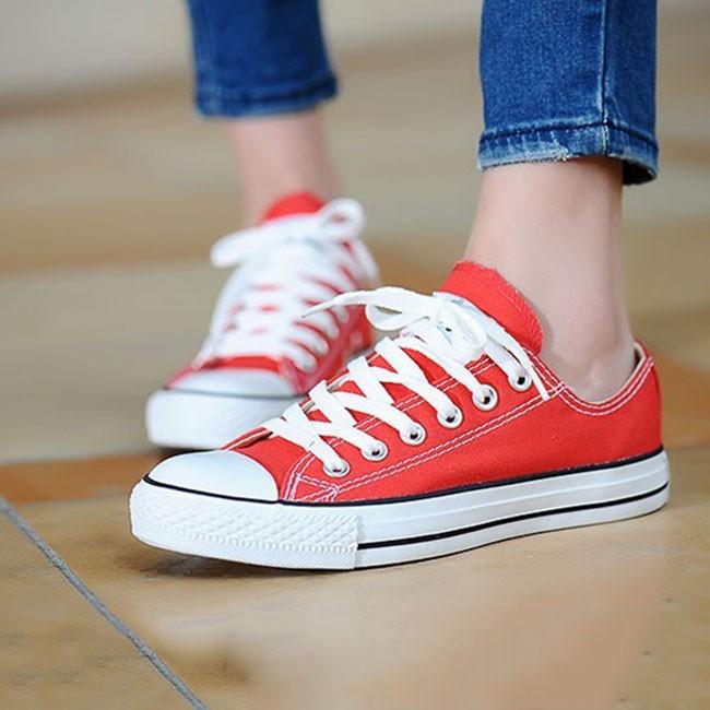Giày Sneaker nữ (đỏ đẹp)
