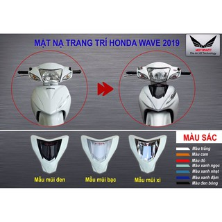 mặt nạ 2 tầng cho wave ALPHA 2017-2019