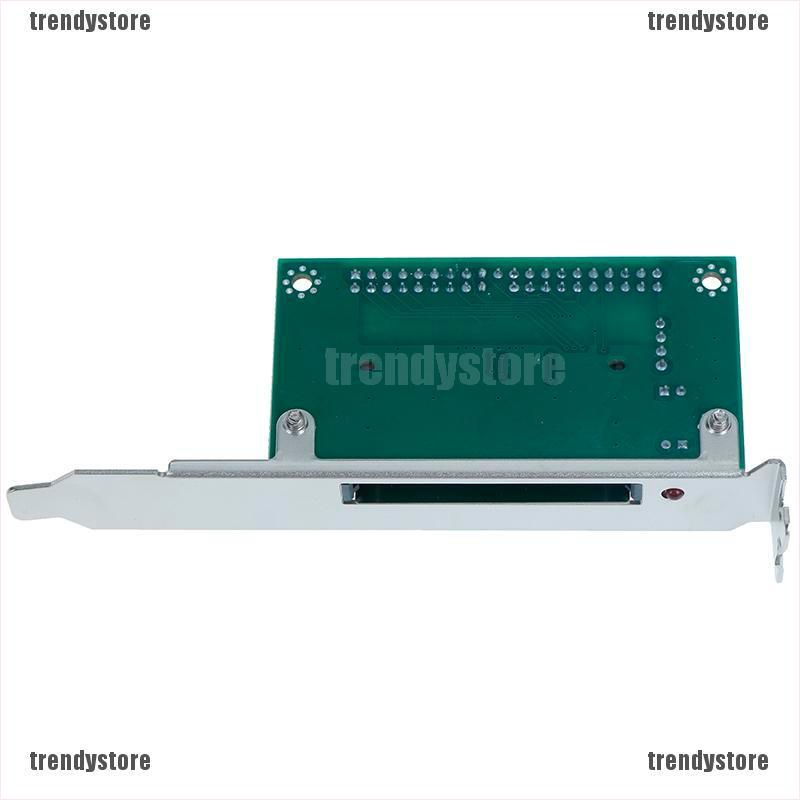 PHỤ KIÊN ĐIỆN TỬ40-Pin CF Compact Flash Card to 3.5 IDE Converter PCI Bracket Back Panel