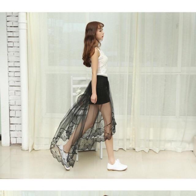 Chân váy ren đuôi cá hàng xịn
