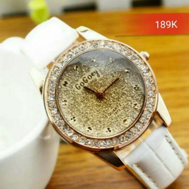 Đồng hồ nữ dây trắng độc đáo
