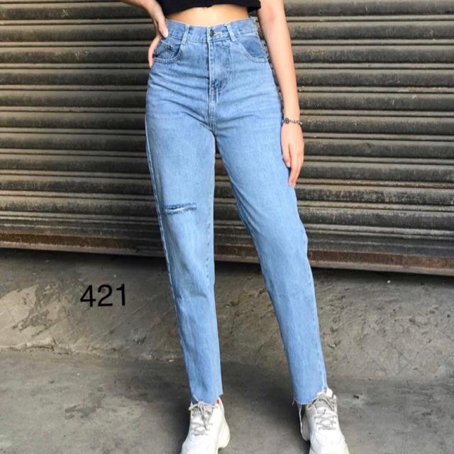Quần jean baggy dài